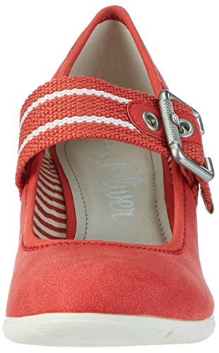 S.oliver Damen 24404 Pompe Rot (peperoncino 533)
