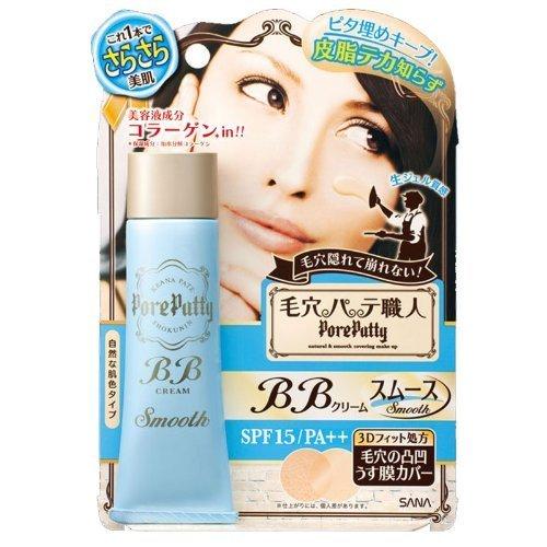 Sana Keana Pate Shokunin Pore Putty BB Cream (Smooth) SPF15 PA++ 30g by Sana