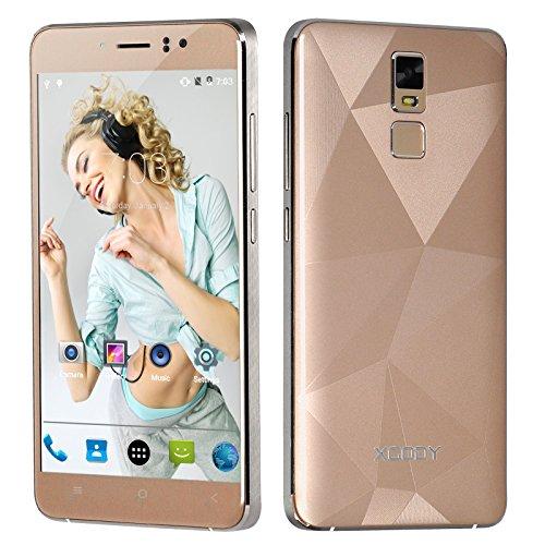 Xgody D10 Unlocked Smartphone Gold