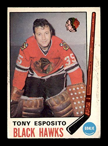 1969 O-Pee-Chee #138 Tony Esposito RC VGEX X1719414