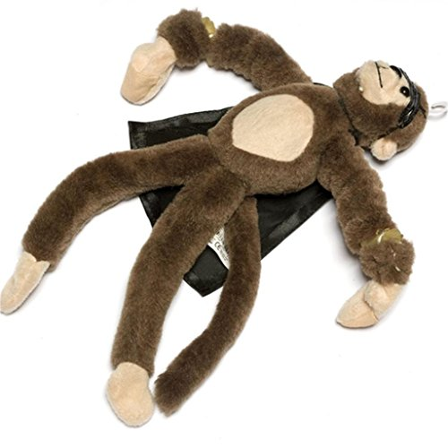Pull Slingshot (Funny Surprise Monkey Toy,Funny Flying Flingshot Slingshot Monkey Plush Toys Screaming Surprise Toy Kids Educational Toys Monkey Plush Toys by ABCsell)