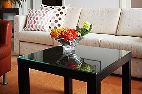 Tavolo con piano in vetro di sicurezza per Ikea di tavolo piccolo ...