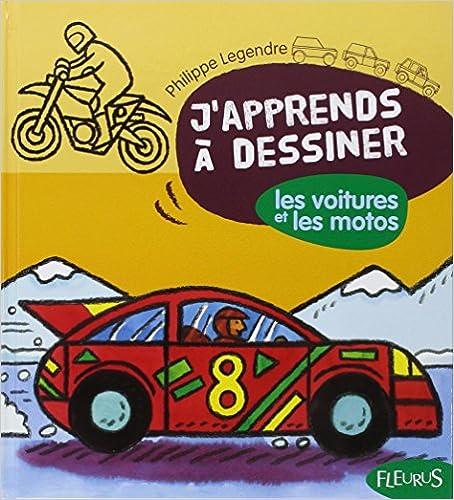 Livres gratuits en ligne J'apprends à dessiner Les voitures et les motos pdf, epub ebook