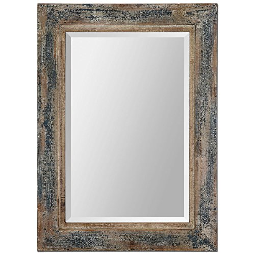 Collection Feyock Grace (Uttermost 13829 Bozeman Distressed Mirror, Blue)