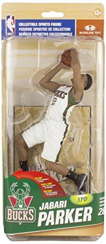 McFARLANE NBA SERIES 26 JABARI PARKER MILWAUKEE BUCKS ACTION FIGURE by NBA