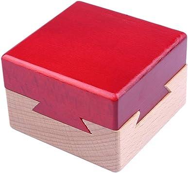 1pc Mini 3d Rompecabezas De Madera Mágicas Cajones Puzzle ...