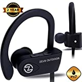 Image of Wireless Bluetooth Headphones ZEUS OUTDOOR Waterproof IPx7 HD Sound Best Wireless Earbuds Earphones with Microphone Workout Running Sports Headphones Bluetooth Headset for Gym