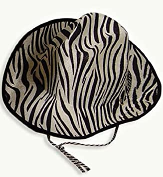 ab665126d Zebra Cowboy Hat Country: Amazon.co.uk: Sports & Outdoors