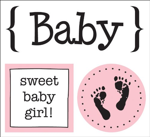 SRM Press Inc. - Card Collection - Stickers - Quick Cards - Baby Girl ()