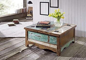 Massivmoebel24de Massivholz Massiv Möbel Holz Couchtisch 90x90