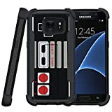 Cheap MINITURTLE Case Compatible w/ Miniturtle Hard Cover for Samsung Galaxy S7 Case [Shockwave Armor] Hybrid DualLayer S7 Phone Case w/ Builtin Locking Stand Game Controller