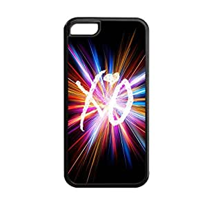 Generic Durable Soft Hard Plastic Back Phone Case For Teen Girls Printing The Weeknd Xo For Apple Iphone 5C Choose Design 3