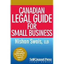 Canadian Legal Guide for Small Business (Legal Series)