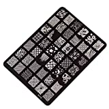 Changeshopping Nail Stamping Printing Plate Manicure Nail Decor Image Stamps Plate XY-15