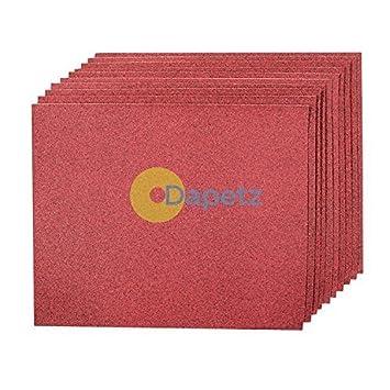 Daptez Hand Schleifen Blatt Kornung 24010pk Aluminiumoxid