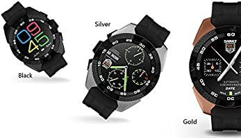 Amazon.com: NO.1 G5 Smart Watch - Heart Rate Monitor ...