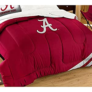 NCAA Alabama Crimson Tide Twin/Full Size Comforter with Sham Set