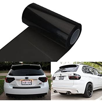 12 By 48 Inches Self Adhesive Headlight, Tail Lights, Fog Lights Tint Vinyl  Film