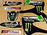 Kawasaki KX 85 00-13 Graphics with backgrounds Team