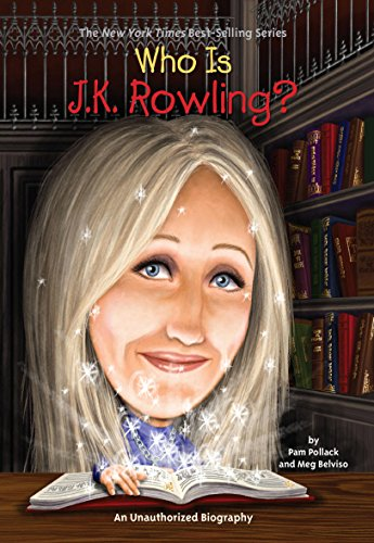 Everyone loves Harry Potter. Now kids can learn about Harry's creator! In 1995, on a four-hour-delayed train from Manchester to London, J. K. Rowling conceived of the idea of a boy wizard named Harry Potter. Upon arriving in London, she began immedia...