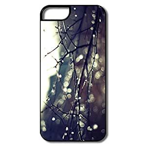 IPhone 5 5S Cover, Wet Twigs White/black Case For IPhone 5