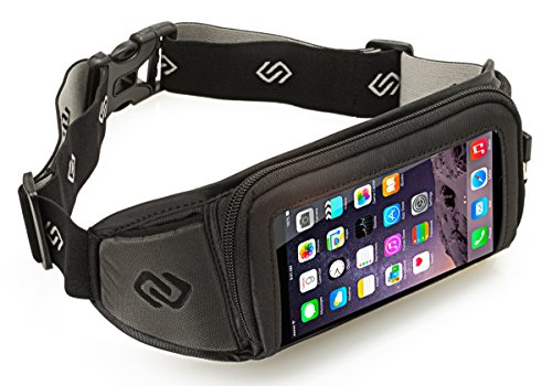 Sporteer Kinetic K1 Sport Belt for iPhone X, iPhone 8 Plus, 7 Plus, Note 8, Galaxy S9, S9 Plus, S8, S8 Plus, S7 Edge, Pixel 2 XL, LG, Moto, Nexus, Xperia XZ2, XA2 Ultra, & MANY Other Phones/Cases by Sporteer