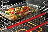 SILICONE OVEN RACK GUARDS by SIMPLY KLEVER | Ensure your SAFETY against BURNS and SCARS | Heat Resistant | Certified BPA Free | FDA Approved | Food Grade