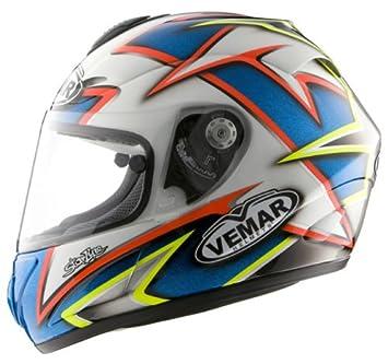 Vemar Casco integral de moto VSR 1r27 Talla L