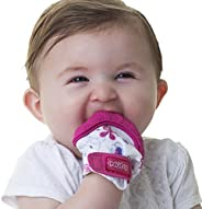 Nuby Soothing Teething Mitten with Hygienic Travel Bag