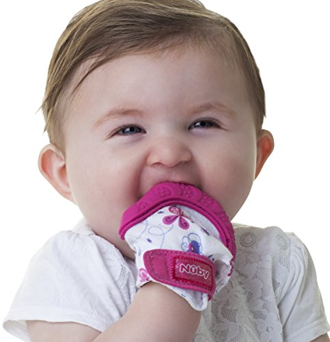 nuby-soothing-teething-mitten-with-hygienic-travel-bag-pink