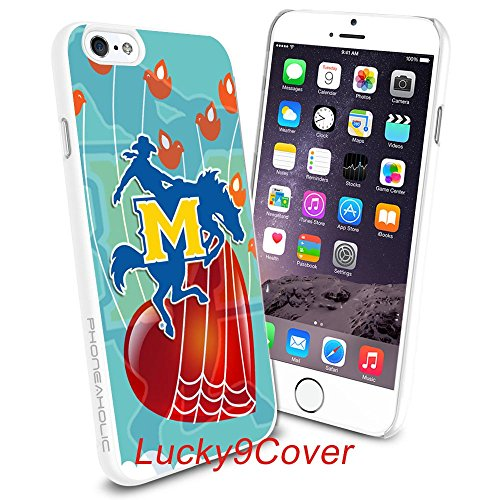 Mcneese State University Basketball (NCAA University sport McNeese State Cowboys , Cool iPhone 6 Plus, 6+, 5.5 Smartphone Case Cover Collector iPhone TPU Rubber Case White [By Lucky9Cover]#288)