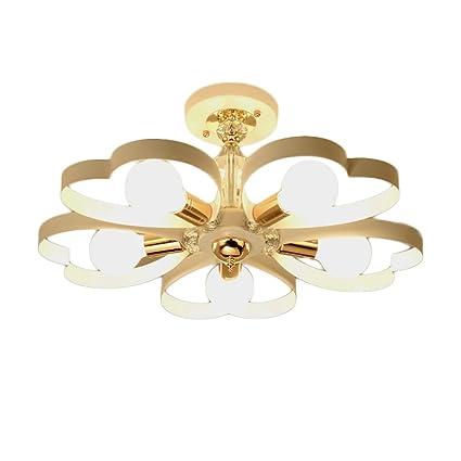 Lámpara de Techo de Cristal Moda Dormitorio de Matrimonio ...