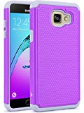 A5 2016 Case, LK [Shock Absorption] Drop Protection Hybrid Dual Layer Armor Defender Protective Case Cover for Samsung Galaxy A5 2016, Violet
