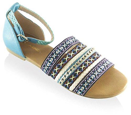 C Label Women's Darby Flat B00TZMEFJ6 Sandal B00TZMEFJ6 Flat Shoes 21fe54