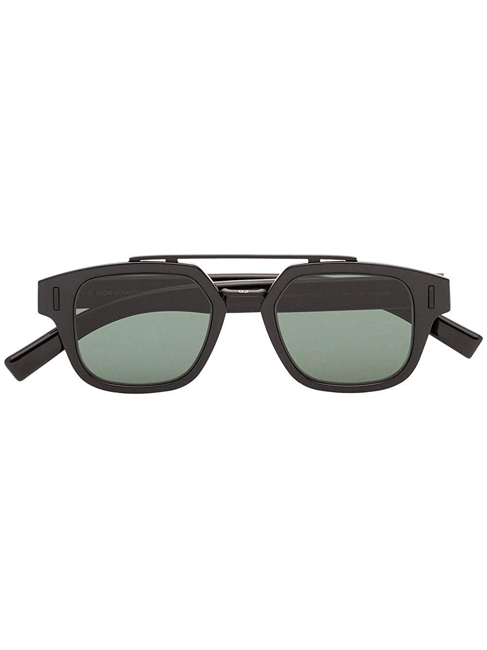 Christian Dior Homme DIORFRACTION1F 0T Gafas, Black/GN Green ...