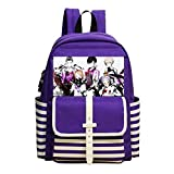Student Bag 3D Printing Caligula Boy Girl School Backpack