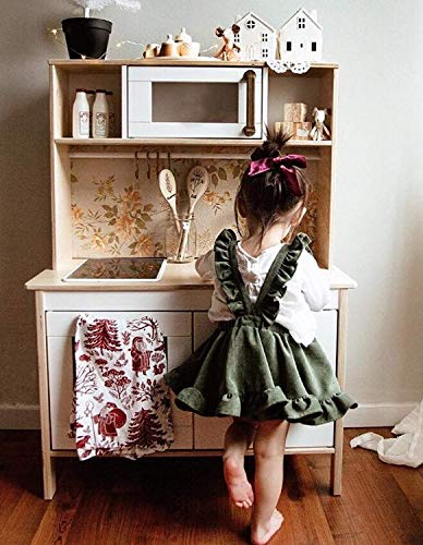 54d70c50d29 ModnToga Baby Girls Velvet Suspender Skirt Infant Toddler Ruffled Casual  Strap Sundress Summer Outfit Clothes (