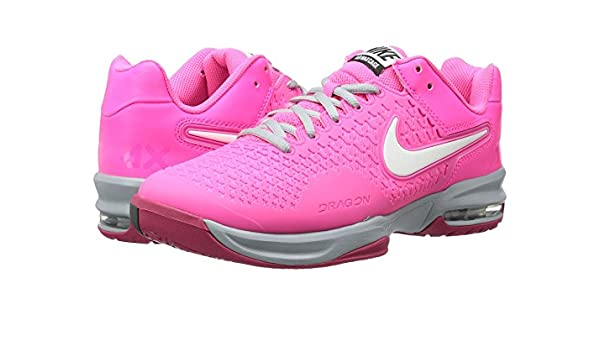 competitive price 182fa 295ec Amazon.com   Women s Nike Air Max Cage Tennis Shoe. Size 11.5. HYPER  PINK IVORY-LIGHT-MAGNET-GRAY FUCHSIA FORCE   Tennis   Racquet Sports