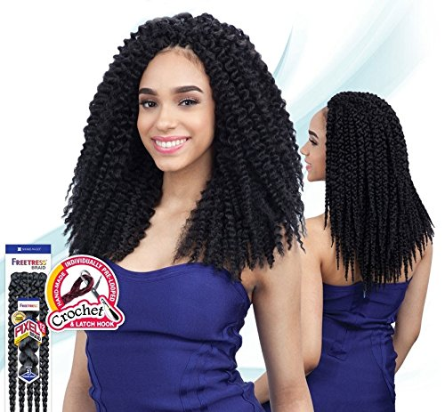 "Price comparison product image PIXEL BRAID 12"" (2 Dark Brown) - Freetress Synthetic Crochet Bulk Braiding Hair"