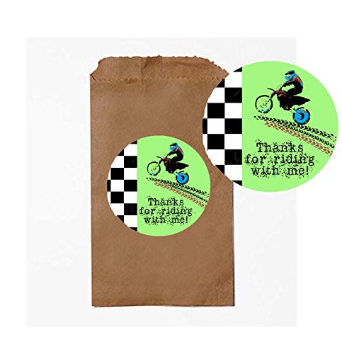 Dirt Bike Motorcycle Themed Party Pack Supply Decor (Party Favor) -