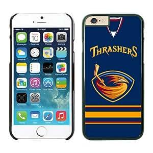 Atlanta Thrashers iPhone 6 Plus Cases NHL 4 Black NHLB13978