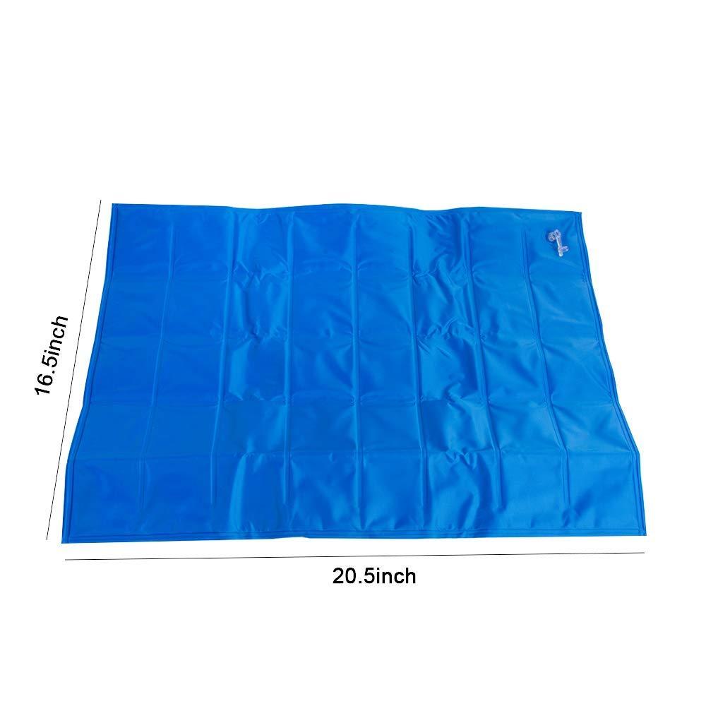 YXMxxm Cojín antiescaras para colchón de Asiento Inflable médico para Silla de Ruedas, Aseo y Cuidado de la Cama, (15.7x17.7 in): Amazon.es: Hogar