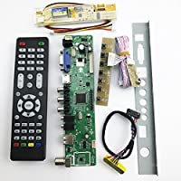 V56 Universal LCD TV Controller Driver Board PC/VGA/HDMI/USB Interface 1 Lamp inverter +30pin 1ch-6bit lvds