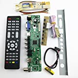V56 Universal LCD TV Controller Driver Board PC/VGA/HDMI/USB Interface 1 Lamp inverter +30pin 1ch-6bit lvds