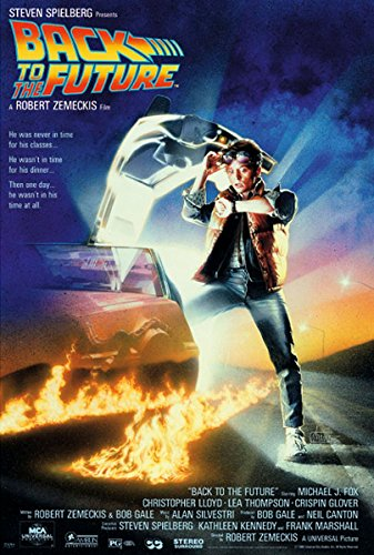(27x40) Back to the Future Michael J Fox Movie (Back Movie Poster)