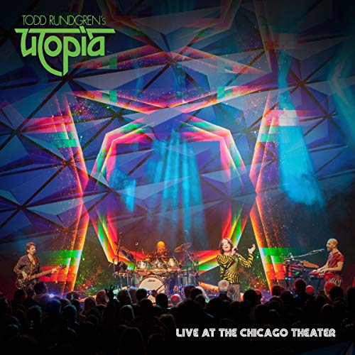 Live At The Chicago Theater Blu Ray / DVD / CD (Rundgren Todd Global Cd)