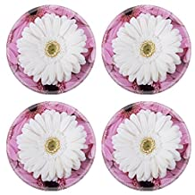Liili Natural Rubber Round Coasters Image ID 35103707 Wedding flower arrangement with Gerberas