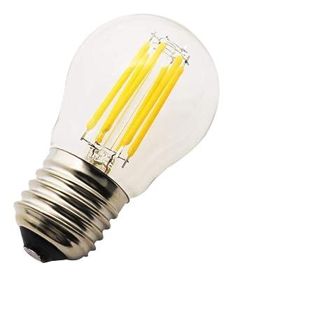 1X Vendimia LED Edison Filamento Pelota de Golf Del Bulbo G45 - Bombilla 6W Luz LED
