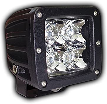 4x 16W CREE Flood Flush Mount LED Work Light Offroad Driving SUV Truck Jeep //24W