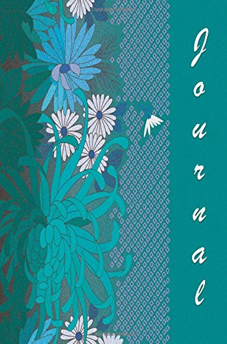Journal: Teal and Flowers 6x9 - GRAPH JOURNAL - Journal with graph paper pages, square grid pattern (Flowers Graph Journal Series)